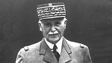 Kollaborateur der Nazis: Marschall Pétains Grab geschändet