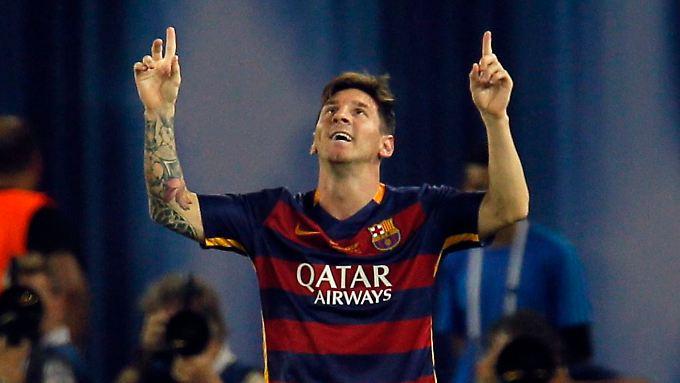 Messi trifft und bereitet vor, am Ende feiert Barcelona.