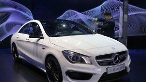 Weniger deutsche Autos für China: Daimler trotzt Absatzeinbruch im Reich der Mitte