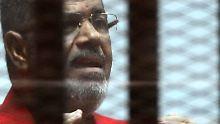 Der ehemalige Präsident der Muslimbrüder wird im August von einem Gericht in Kairo verurteilt.