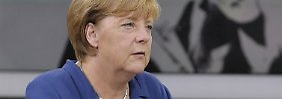 Wachsende Flüchtlingszahlen: Merkel fordert gemeinsame Asylpolitik in der EU