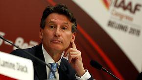 Frisch gewählter IAAF-Präsident: Sebastian Coe tritt an, die Leichtathletik reinzuwaschen