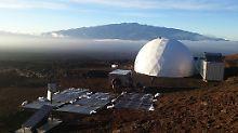 Grenzerfahrung auf Hawaii: Bei der Mars-Simulation gab es Streit