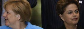 Zu Besuch in der Krise: Was Merkel mit Brasilien vorhat