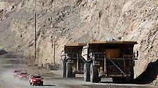 Der größte Kupfertagebau der Welt: Das ist Chuquicamata