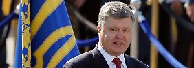 Ukrainischer Präsident in Berlin: Poroschenko befürchtet russischen Angriff
