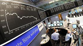 Kursrutsch an den Börsen: Gefallene Kurse bieten Chance für Anleger