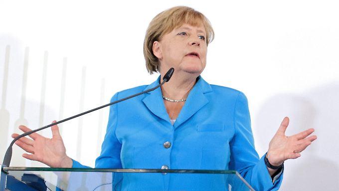 Angela Merkel nutzt die öffentliche Aufmerksamkeit auf dem Balkan für die Klarstellung: Flüchtlinge von hier haben in Deutschland kaum Aussichten auf Asyl.