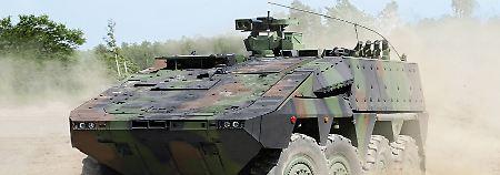 Boxer auf Probefahrt im Baltikum: Litauen testet deutschen Radpanzer
