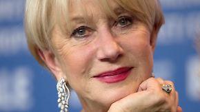 Promi-News des Tages: Helen Mirren schwärmt von David Beckhams Beinen