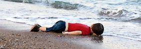 """""""Der Untergang Europas"""": Ein Foto bringt die Welt zum Schweigen"""