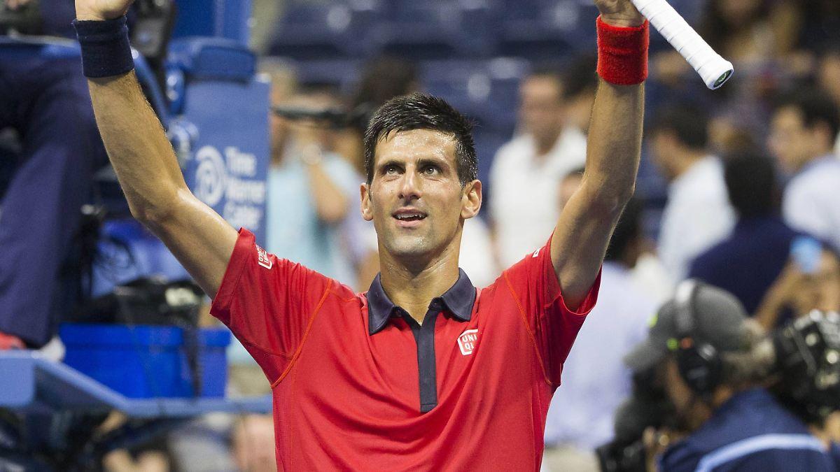Djokovic in Topform eilt in Runde drei