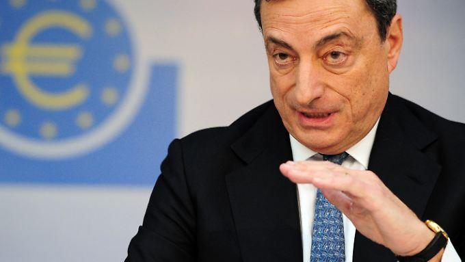 """Draghi will """"alle notwendigen Mittel ergreifen""""."""