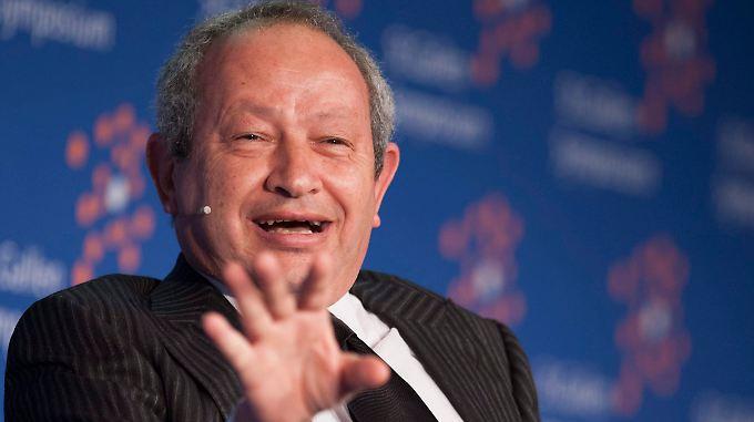Sawiris hat die Lösung für Flüchtlinge gefunden - findet er selbst.
