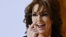 In Energiefragen nach eigener Aussage sattelfest: Sarah Palin.