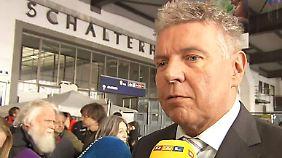 """Flüchtlinge willkommen: Münchens OB Reiter: """"Es ist unglaublich, was hier passiert"""""""