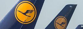 Die Piloten der Lufthansa setzen ihren Streik fort. Am Mittwoch sind davon Kurz- und Mittelstrecken betroffen. Foto: Frank Rumpenhorst