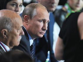 Wladimir Putin ist für eine internationale Koalition gegen den IS.