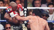 Tiefschlag oder K.o.-Treffer?: Dopingvorwürfe gegen Floyd Mayweather