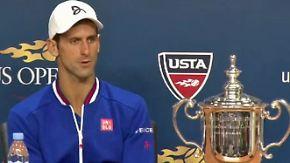 """Djokovic nach seinem US-Open-Sieg: """"Das ist mehr als ich erhoffen durfte"""""""