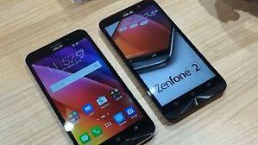 Die IFA-Highlights 2015: Asus Zenfone 2 mit viel Speicher und massig Akku