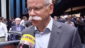 """Daimler-Chef Zetsche: """"Vernetzung von Produkten wird immer weiter nach vorne gehen"""""""