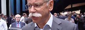 """Daimler-Chef Zetsche auf der IAA: """"Vernetzung von Produkten wird immer weiter nach vorne gehen"""""""