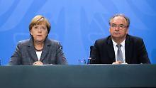 CDU sollte mehr CSU sein: Haseloff muckt gegen Merkel auf