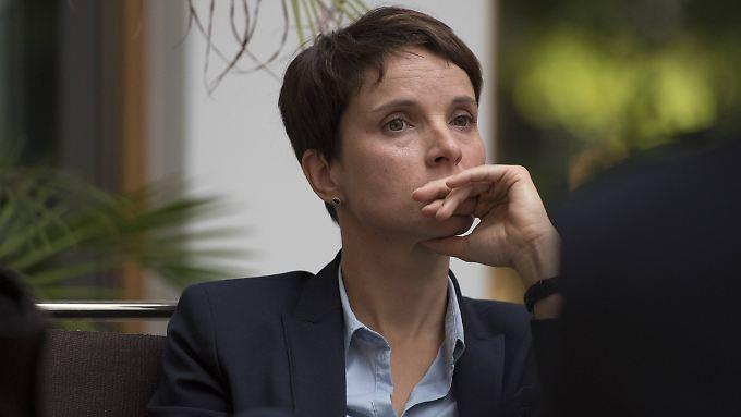 AfD-Chefin Frauke Petry ist auch Fraktionsvorsitzende im sächsischen Landtag.