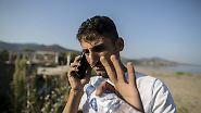 Ihab sagt, es fühle sich an, als ob all seinen glücklichen Erinnerungen verloren gegangen seien.