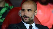 Pep Guardiola war mit dem Auftritt seiner Bayern in Piräus zufrieden.