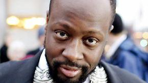 US-Rapper Wyclef Jean muss sich erholen.