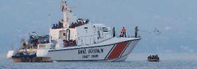 Neue Fluchtwelle in der Ägäis?: Küstenwache greift erstmals Kurden auf