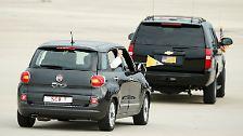 Pontifex im Fiat 500: USA staunen über Mini-Papstauto