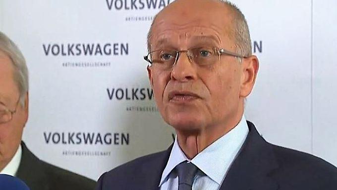"""Erklärung von Berthold Huber: """"Wir sind entschlossen, einen Neuanfang anzupacken"""""""