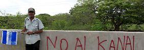Großprojekt Nicaraguakanal: Tausende müssten umgesiedelt werden