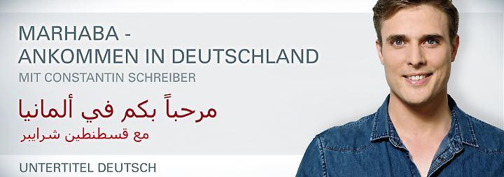 Arabisch mit deutschen Untertiteln: Marhaba, Teil 1: So ticken die Deutschen