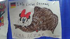 Zeichnungen von Flüchtlingskindern: Bilder sagen mehr als Worte
