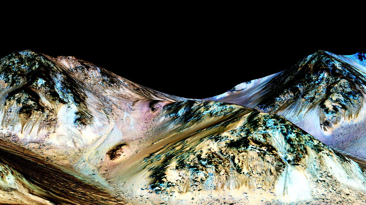 Gibt Es Wasser Auf Dem Mars