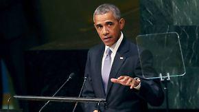Lösungssuche im Syrien-Konflikt: Obama macht Assad-Abgang zur Bedingung