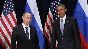 Gespräche über Syrienkrieg: Frage nach Assads Rolle entzweit Obama und Putin