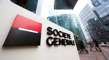 Trotz Gewinneinbruchs: Société-Generale-Aktien sind Topgewinner