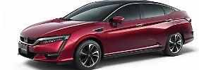 Noch hat die Studie mit Wasserstoffantrieb von Honda keinen Namen.