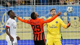 15 Tore in der ukrainischen Liga, 3 in der Champions League: Alex Teixeira hat in dieser Saison bereits reichlich Treffer für Schachtjor Donezk produziert.