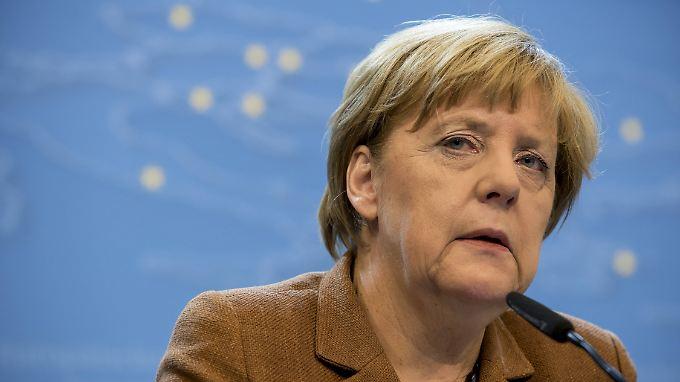 Merkel rüttelt nicht am Asylrecht.