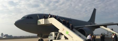 Regierungs-Airbus ist kaputt: Merkels Indien-Reise beginnt mit Panne