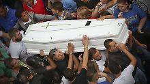 Der 17-jährige Gennaro Cesaran wurde auf einem Platz in Neapel erschossen.