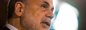 Ex-Fed-Chef Ben Bernanke hätte lieber mehr Ermittlungen gegen verantwortliche Banker gesehen.