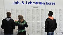 Deutschland hat eine niedrige Jugendarbeitslosigkeitsquote.