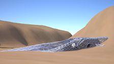 Unterkünfte aus dem 3D-Drucker: Wohnungen auf dem Mars: die ersten Entwürfe